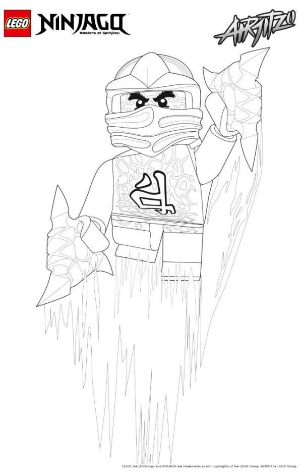 Kleurplaten Lego Ninjago Kai.Print Lego Ninjago Kleurplaat Ran Kleurplaten Lego Slaapkamer