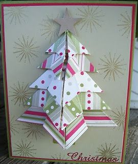 Oragami Christmas card.
