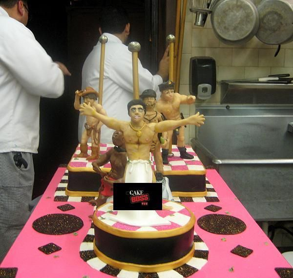 Cake Boss getting so much attention when Ace of Cakes makes cakes