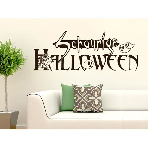 East Urban Home Schaurige Halloween, Ghost Wall Sticker In