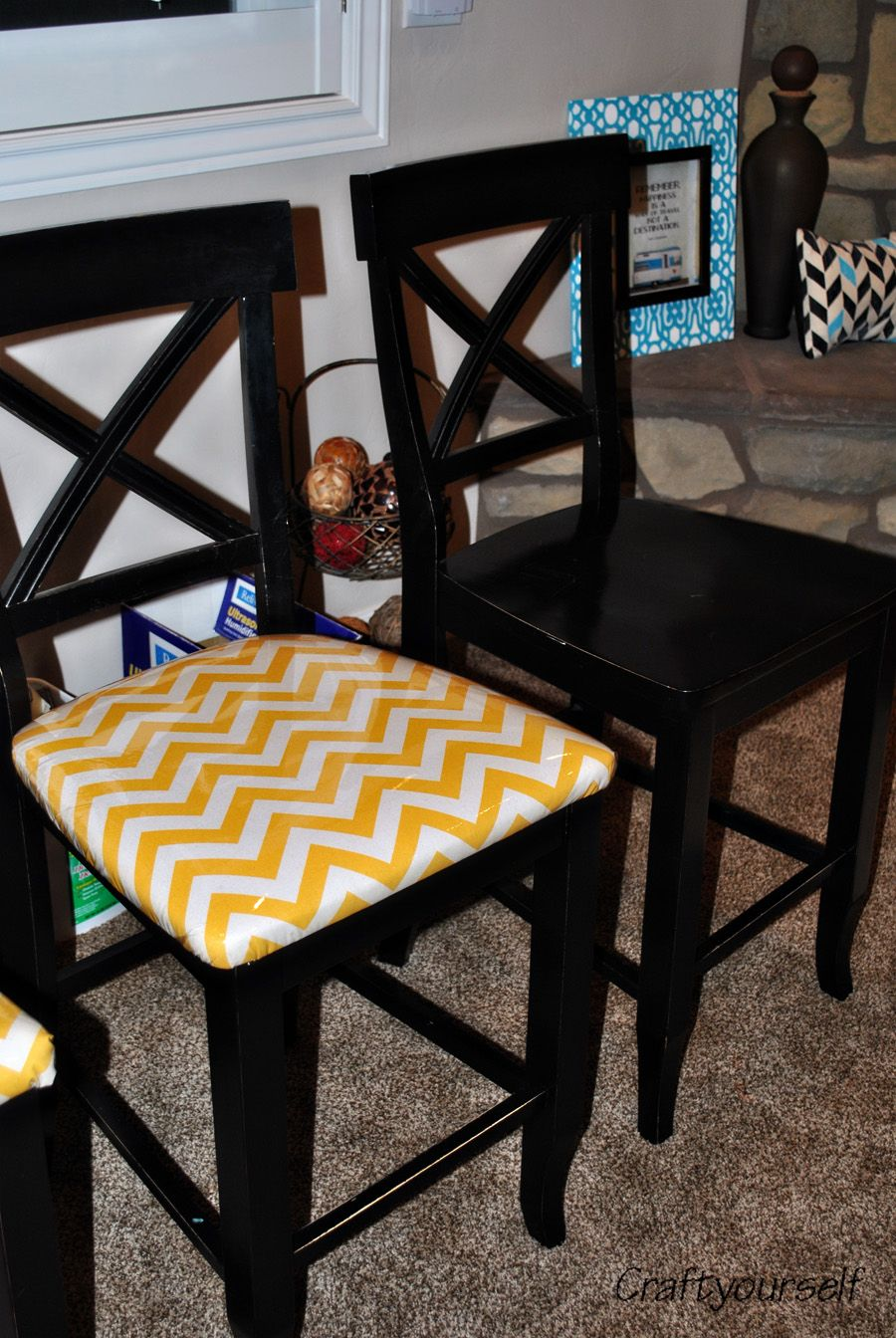 How to reupholster a dining room chair dining room