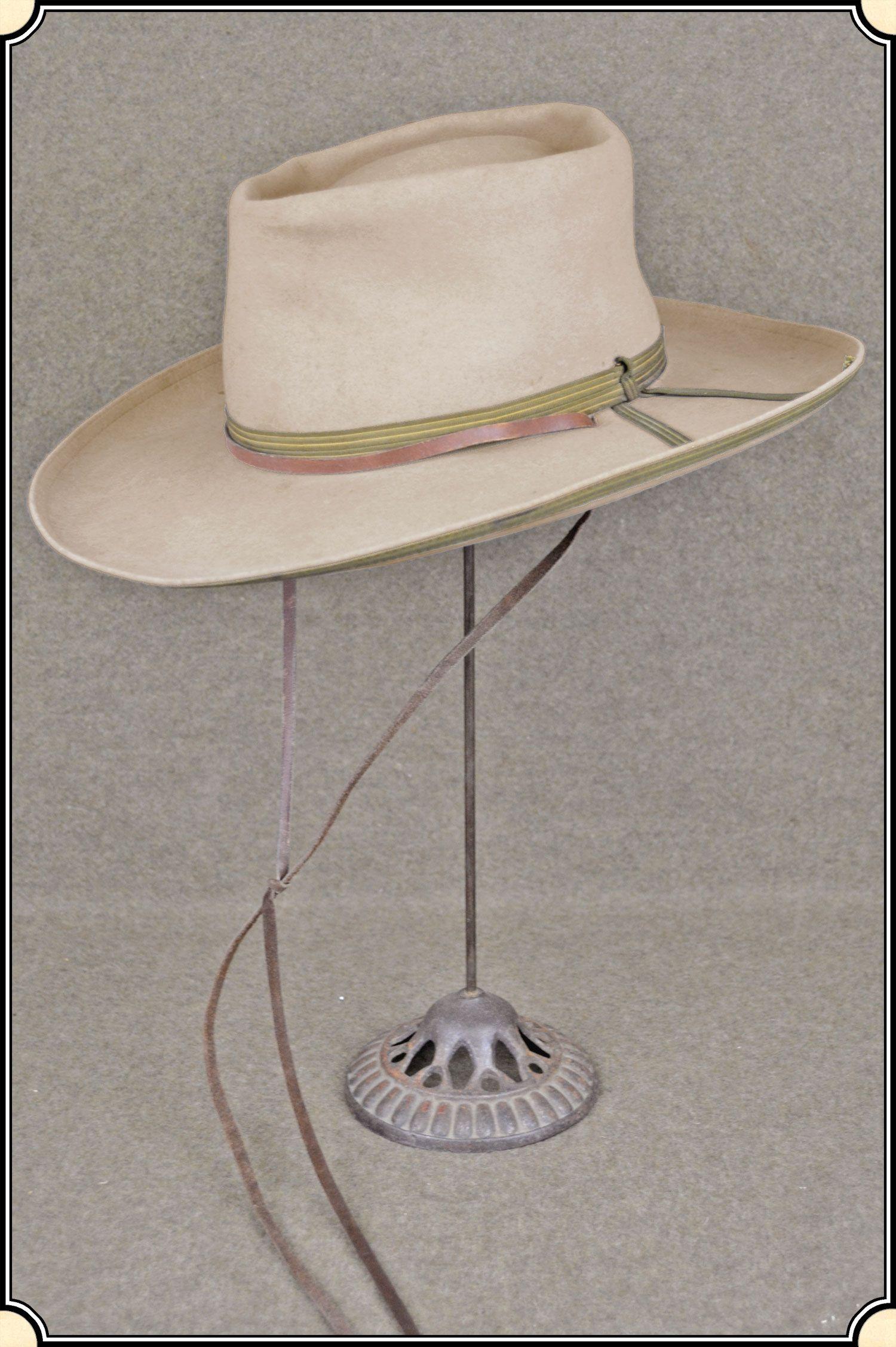 0b41a51d0906d4 Antique Stetson Hat with Original Stetson Hat Box | 4 THE PALADIN ...