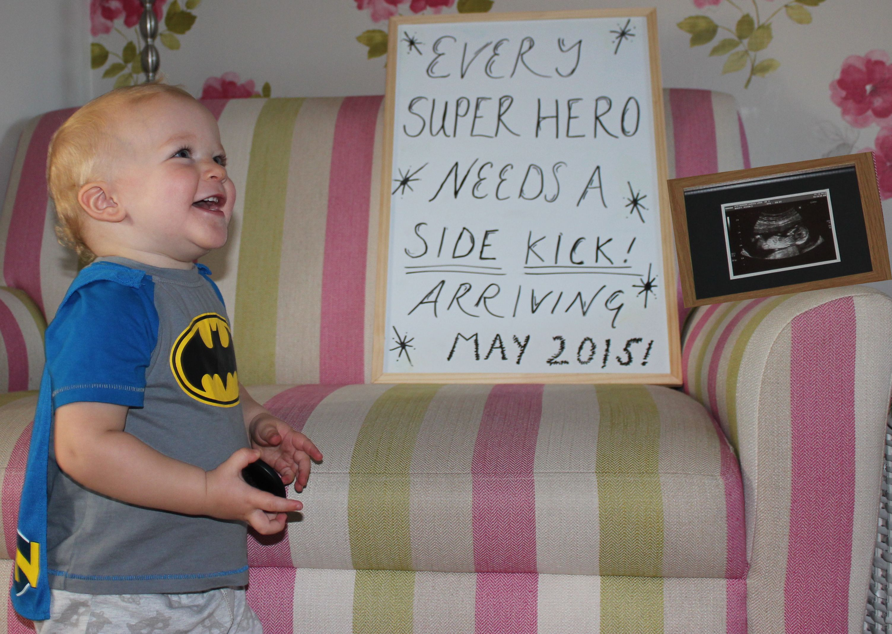 New baby announcement, big brother announcement :)