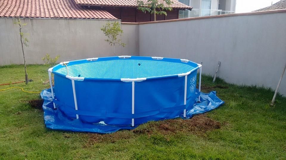 nice-plastic-garden-pool SWIMMING POOLS IDEAS Pinterest