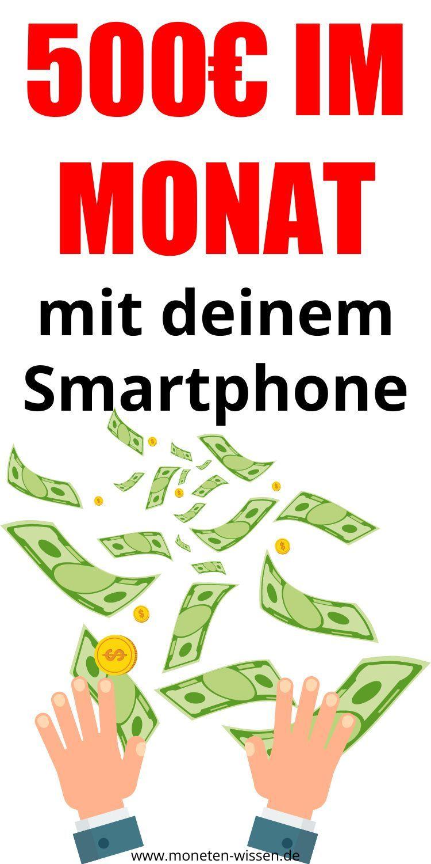 20 Apps zum Geld verdienen   Moneten Wissen   Geld verdienen, Von ...