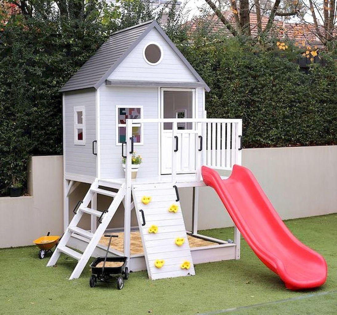 Cool 80 Fantastic Backyard Kids Ideas Play Space Design ...