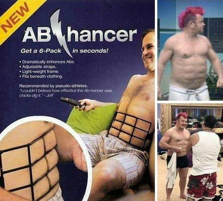 Ahahaha for the pseudo athlete!