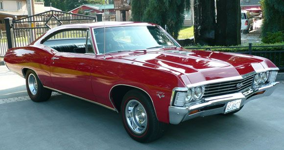 1967 chevrolet impala ss fastback coupe a numbers. Black Bedroom Furniture Sets. Home Design Ideas