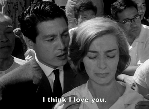 . Hiroshima mon amour, an acclaimed 1959 drama film directed by French film director Alain Resnais