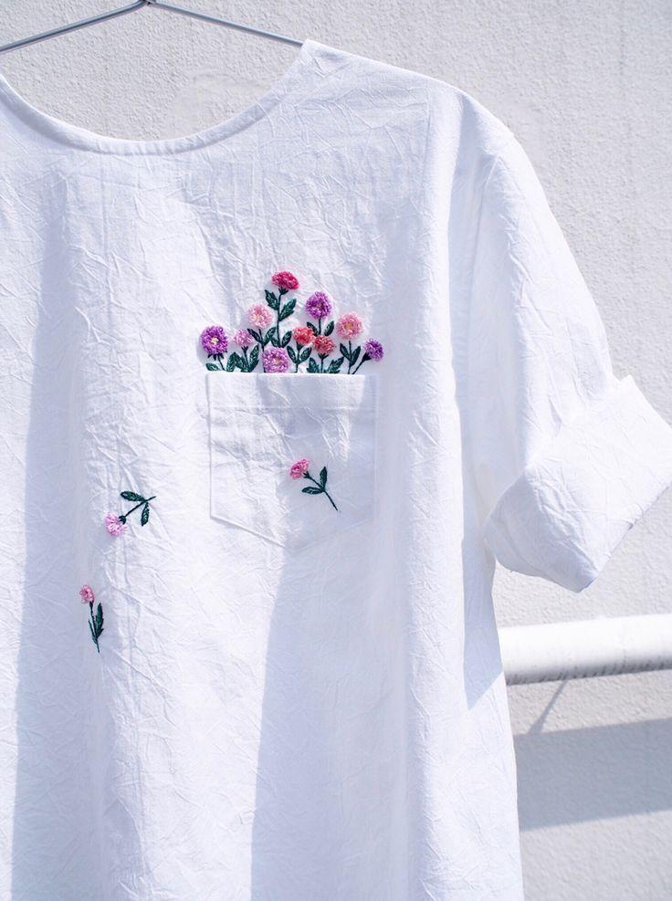 Photo of Bestickte Kleidung von Juno Embroidery. #fashion #DIY_fashion #DIY_crafts – Kunst