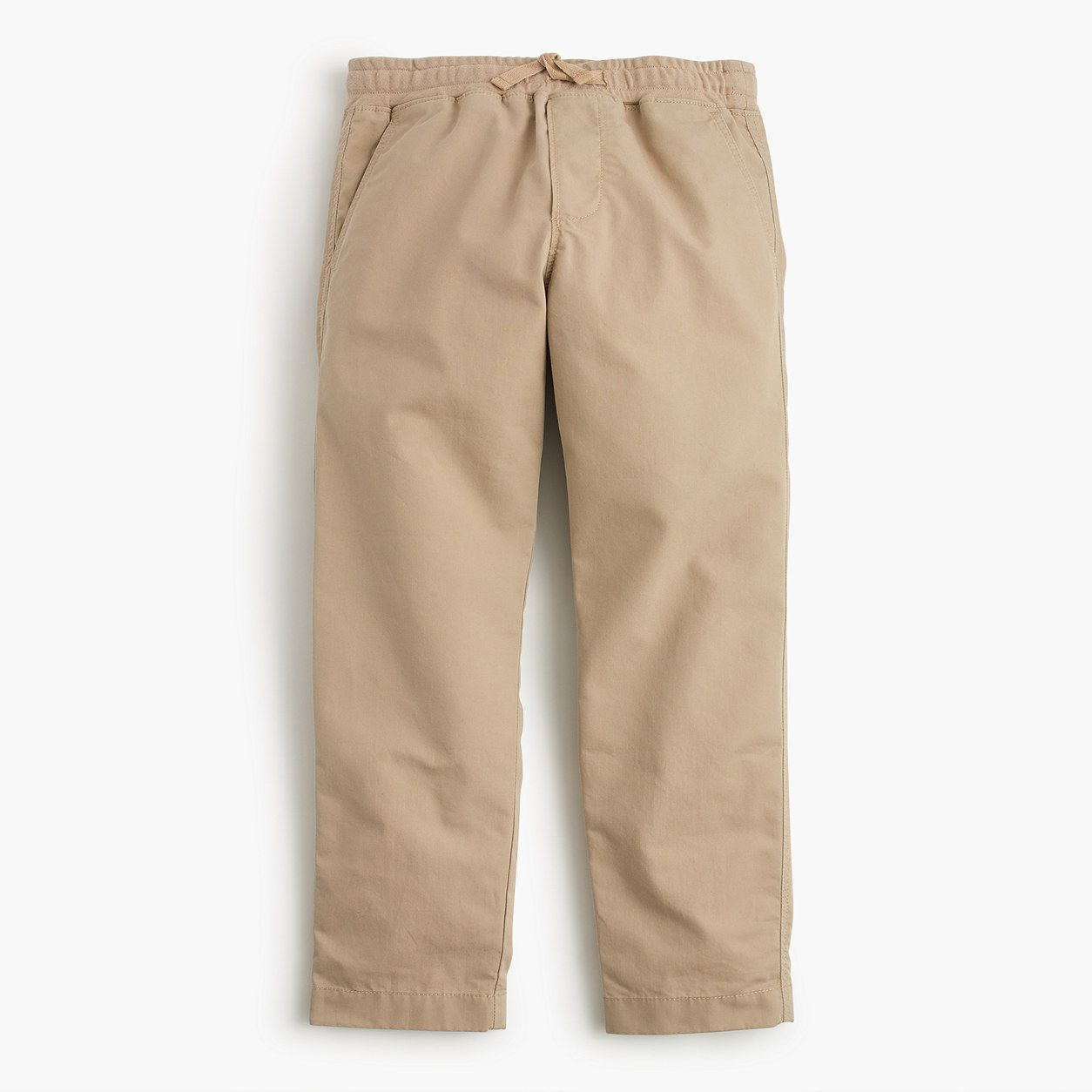 crewcuts Boys Lightweight Chino Pull-On Pant With Reinforced Knees (Size 10 Kid)