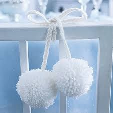 Image result for decorate with pom poms