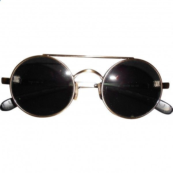 fd9054bd1cd Vintage Sunglasses Trends - - VINTAGE SUNGLASSES CELINE (200 CAD) ❤ liked  on Polyvore featuring accessories