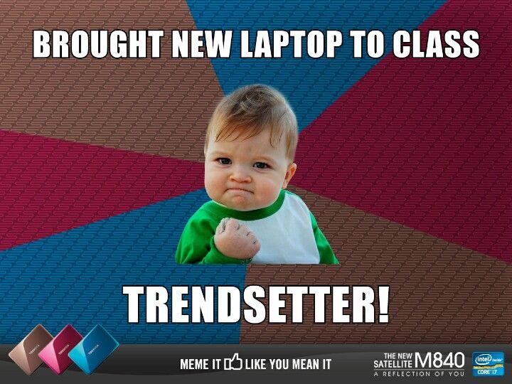Success kid! | Success kid, Memes, New laptops