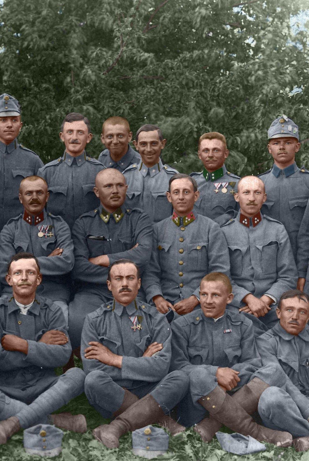 fea03f7c3a7af Soldados de Austria-Hungría.