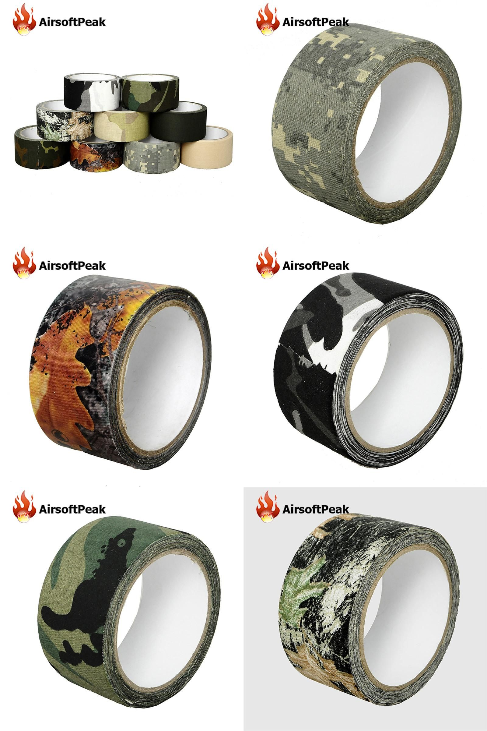 Visit to Buy] 10M Camo Wrap Outdoor Hunting Bionic Tape