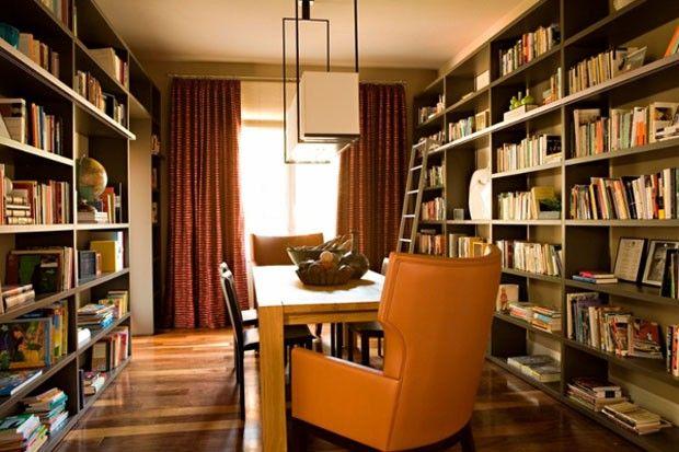 Décor do dia biblioteca moderna Books - bibliotecas modernas en casa