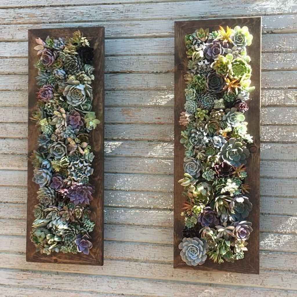 Beautiful Vertical Garden Ideas: 01 Beautiful Vertical Garden For Wall Decor Ideas