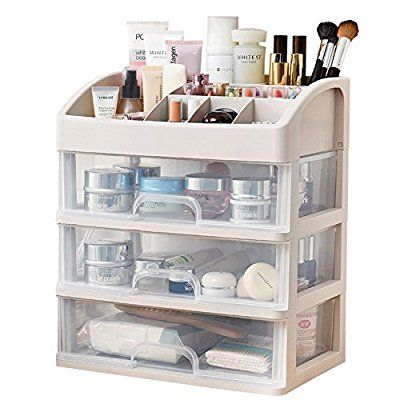 Cosmetic Storage Box Makeup Organizer Multi Layer Drawer For Bathroom  Desktop