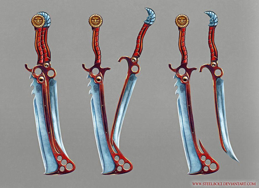 Modular Sword (concept) by SteelBolt | Dnd items and ideas