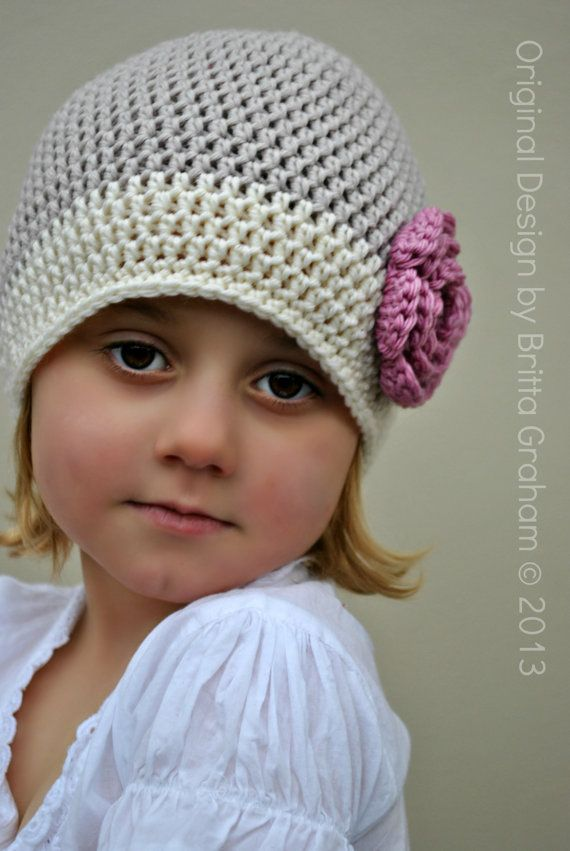 Basic Beanie Pattern - Unisex Crochet Hat Pattern uses DK weight (US  Light 3 a394030c62d