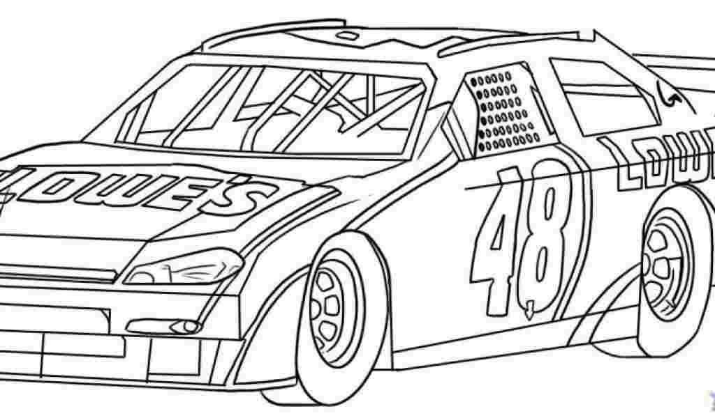 Best Printable Nascar coloring pages for kids 777