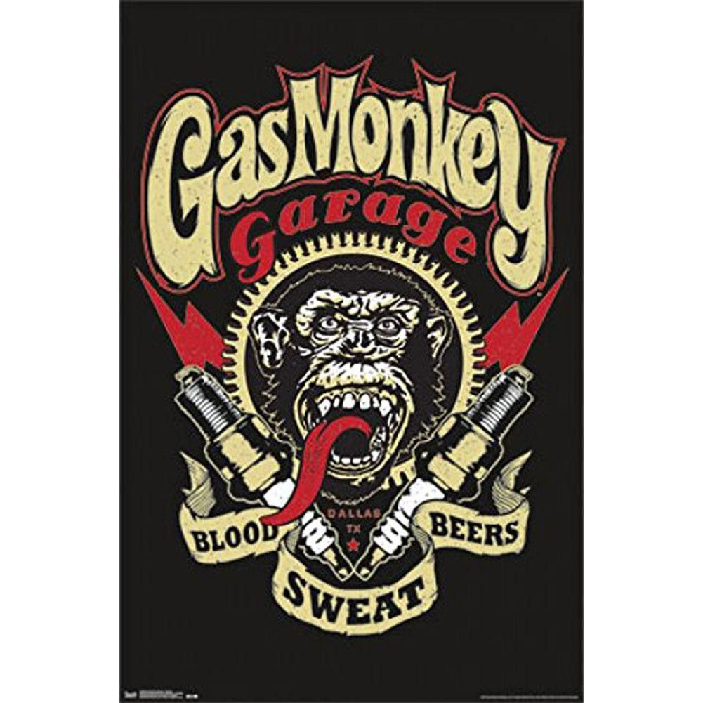 Gas Monkey Sign