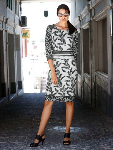 Laura Kent Druckkleid in trageangenehmer Qualität   Kleid ...