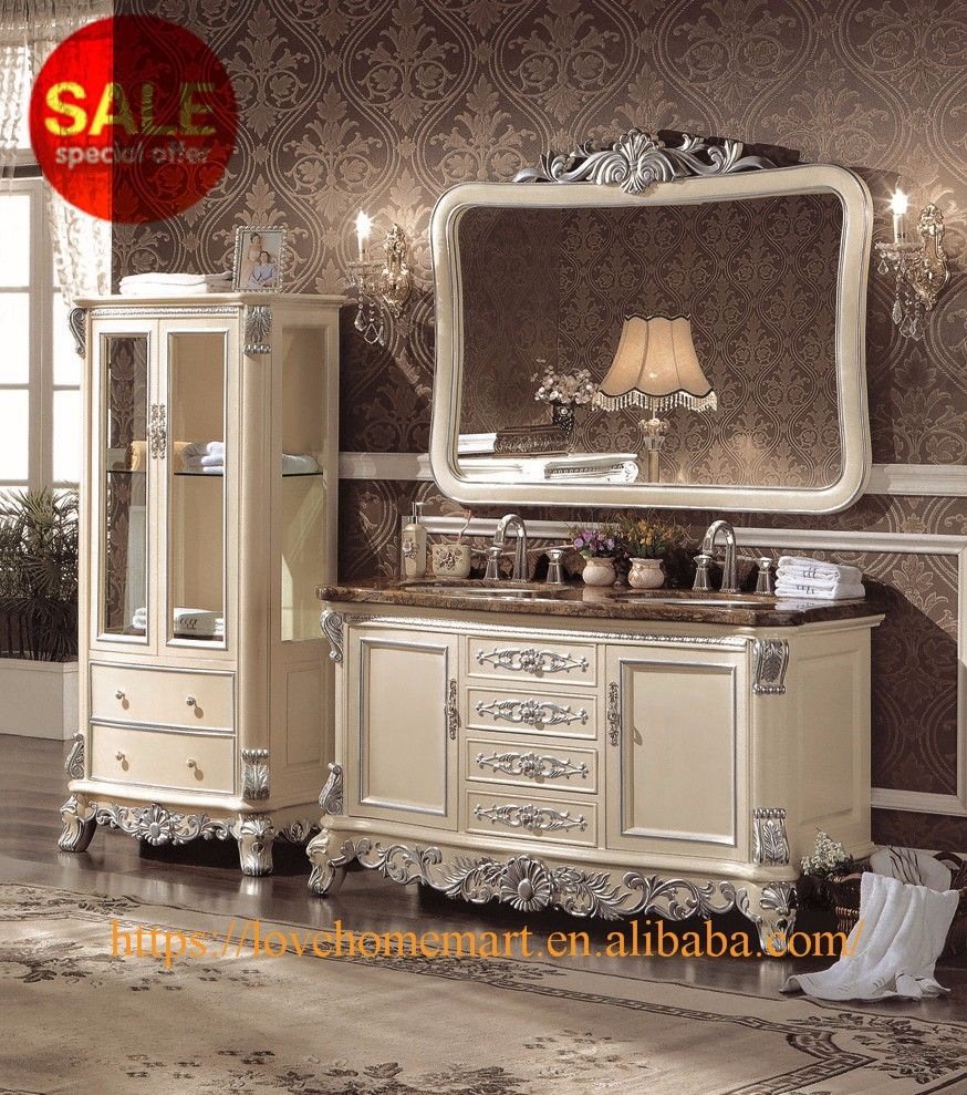 Custom Bathroom Vanities Montreal wholesale custom solid wood bathroom vanities,4 drawer white