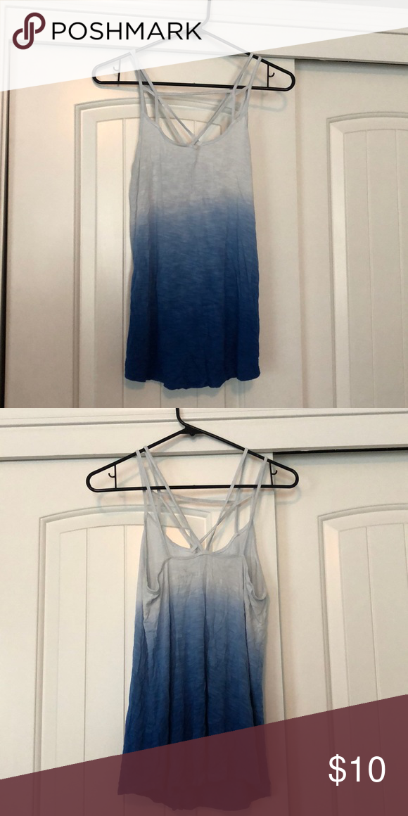 Light Blue In Various Sizes Maurices Women/'s Racerback Ombre Designed Tank Top