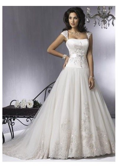 Huge Ball Gown Wedding Dresses with sleeves | Chinese Wedding Dress ...