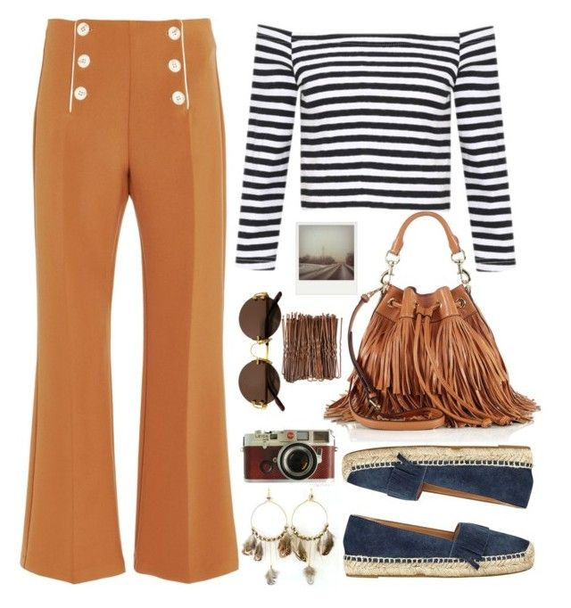 """""""Sem título #102"""" by analookforless ❤ liked on Polyvore featuring Rebecca Minkoff, Clover Canyon, Marc Fisher, Leica, Cartier, Polaroid and diaryofateenagegirl"""