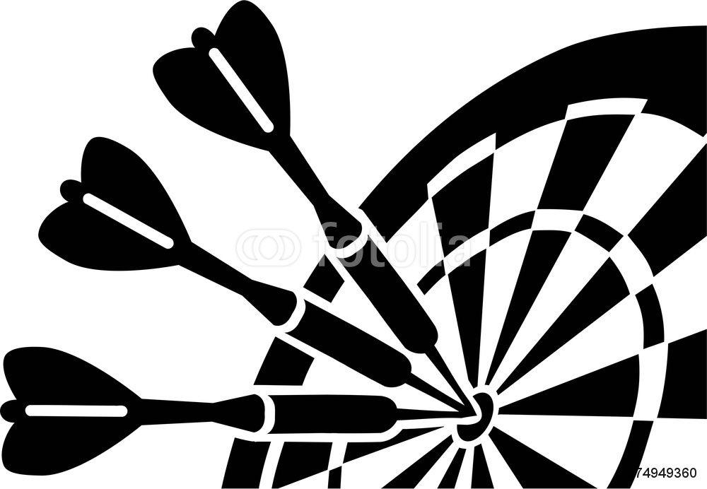 20+ Dart Clipart Black And White