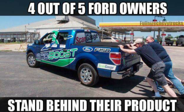 Dieseltees 4 Out Of 5 Ford Owners Stand Behind Their Product