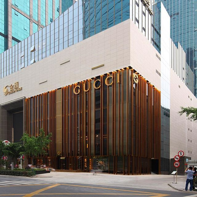 Gucci Store Facade