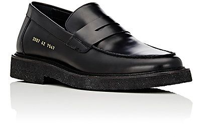5f343090 Common Projects Crepe-Sole Penny Loafers - Loafers - 504612613 ...