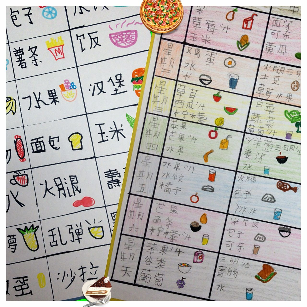 Students Designed Meal Planners With Images