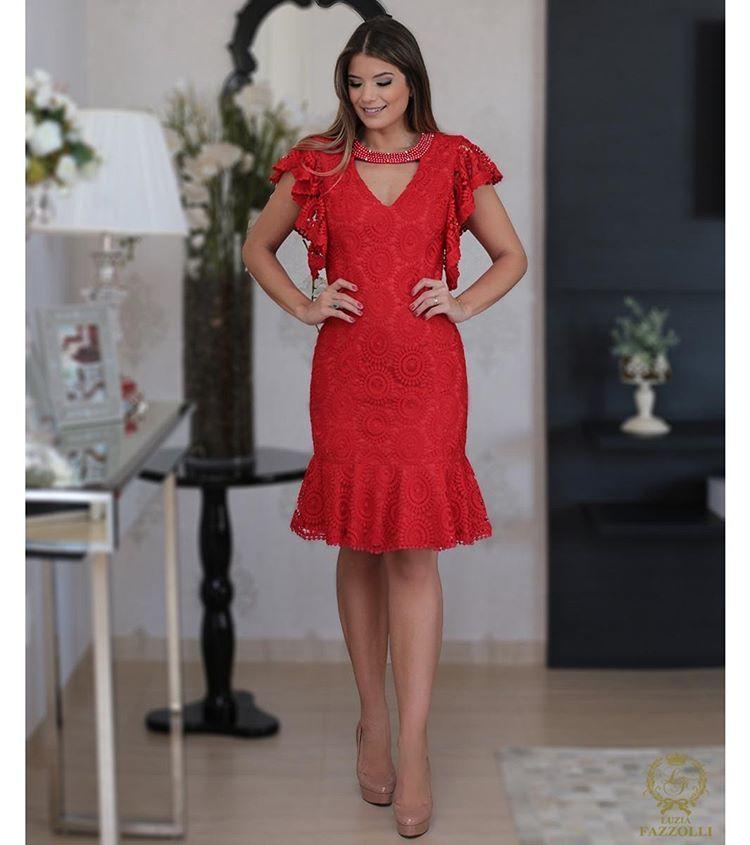 4b6ba7c2e Power Red ❤ Perfeito para começar o fim de semana incrível ✨ @arianecanovas  #LuziaFazzolli #LaBelleModernÉpoque #LetsCelebrate #Summer17