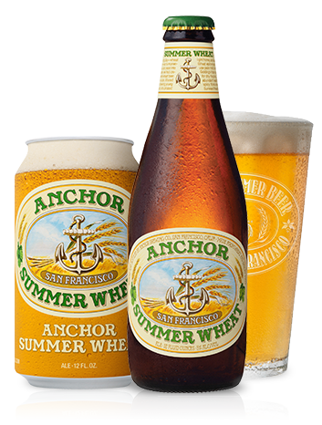 Anchor summer beer top american wheat beer from san for Craft beer san francisco