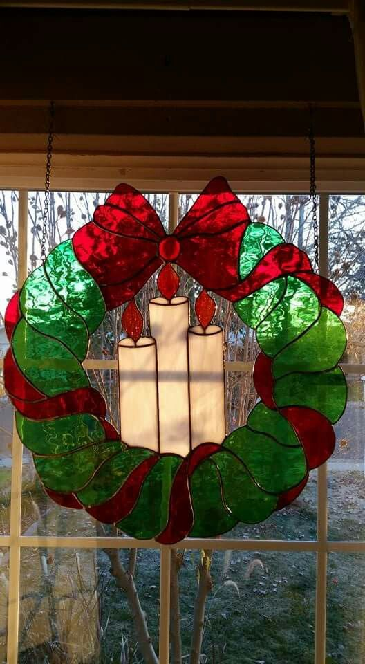 Pin by Molly Brown on Stained Glass Seasons - Christmas Pinterest