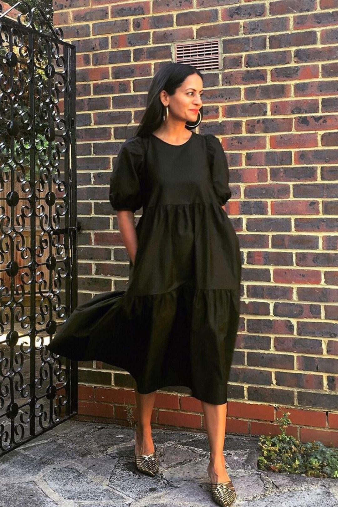 Best Poplin Dresses For Spring Summer 2019 Stylish Belles Poplin Dress Zara Black Dress Geo Print Dress [ 1620 x 1080 Pixel ]