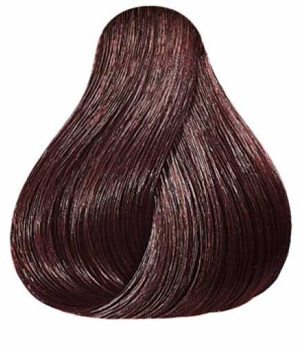 Wella Koleston Perfect 5 75 Brown Mahogany Dark Brown Red Hair Color Black Red And Black Hair Color Mixture Hair Color Mahogany Red Brown Hair Hair Color