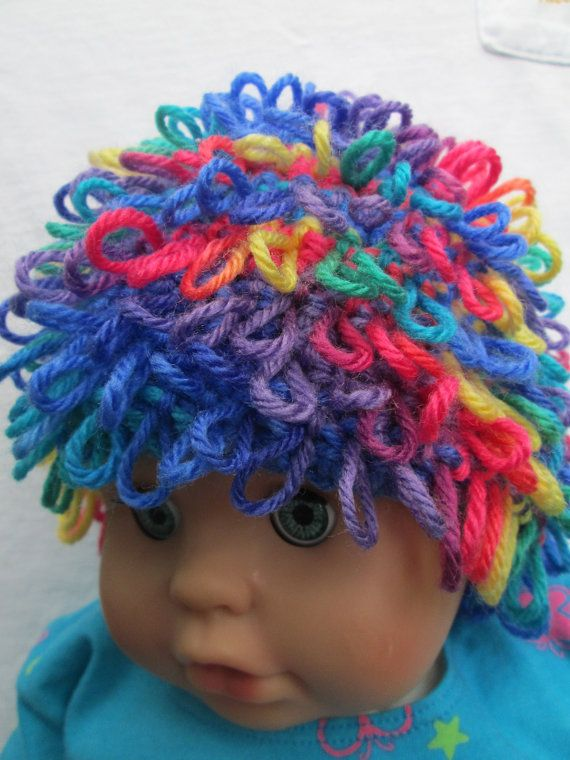 Crocheted Rainbow Loops Crochet Cabbage Patch Doll by Ritaknitsall ...