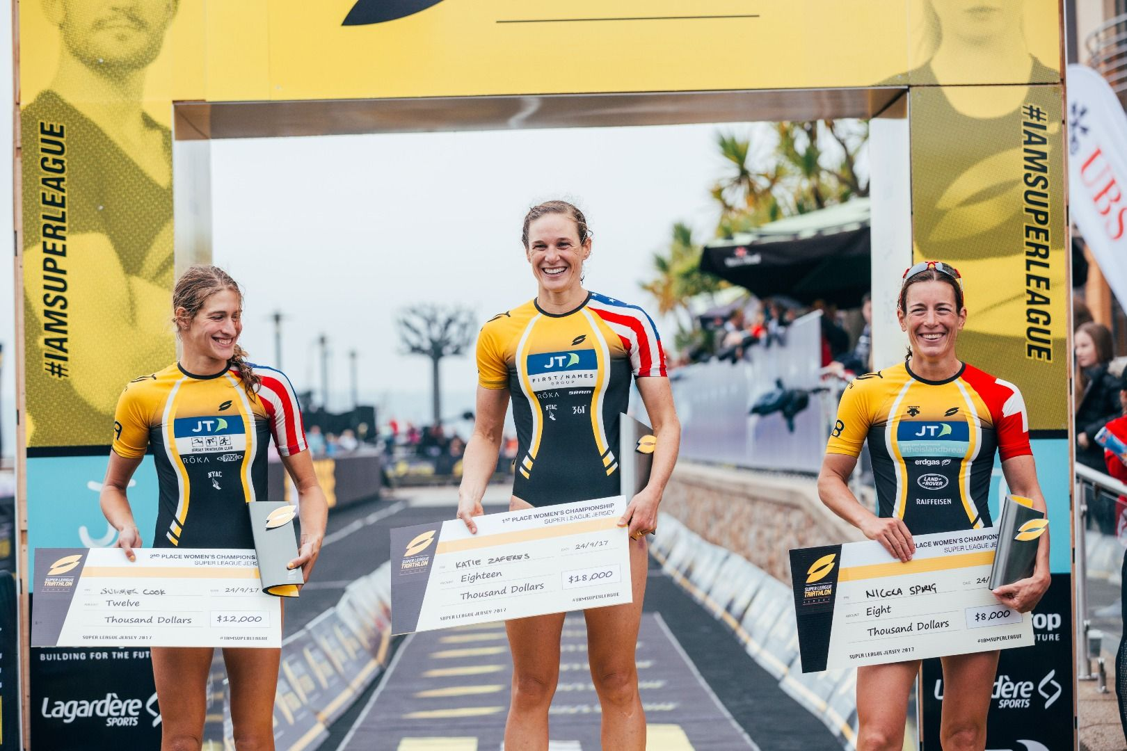 Super League Triathlon Crowns New Champions in Jersey