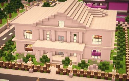Modern House 2 Creation 1084 Minecraft House Designs Minecraft Roof Roof Design
