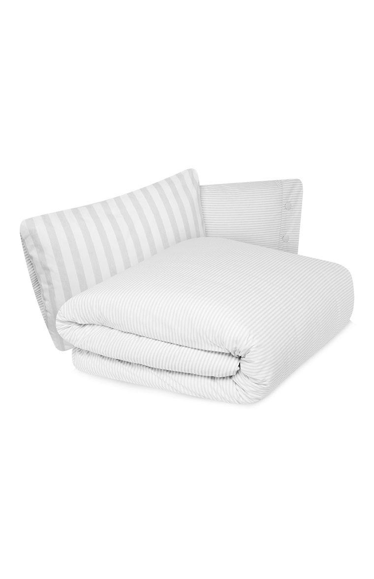 Primark   Grey Stripe Duvet Cover Set | House | Pinterest | Duvet