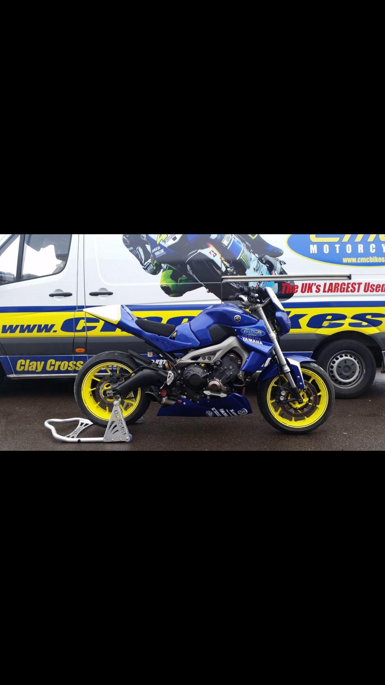 Sick Ass FZ 09 Race Bike  | Fz 09's | Fz09, Yamaha fz 09, Cars