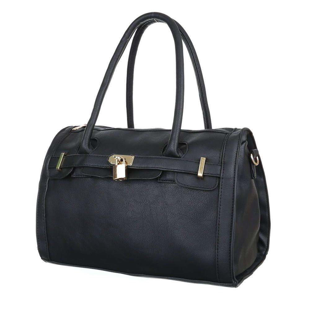 16,99 €  - Wenn Sie eine klassisch-zeitlose Tasche suchen, die zudem noch viel einstecken kann, sind Sie mit diesem Modell bestens bedient! Innen mit unterteilten Fächern ausgestattet, bietet das schicke Accessoire überaus viel Platz, um alle...