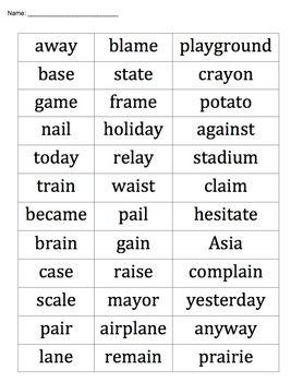 3rd Grade Word Study | My Boys <3 | 3rd grade words, Grade spelling ...