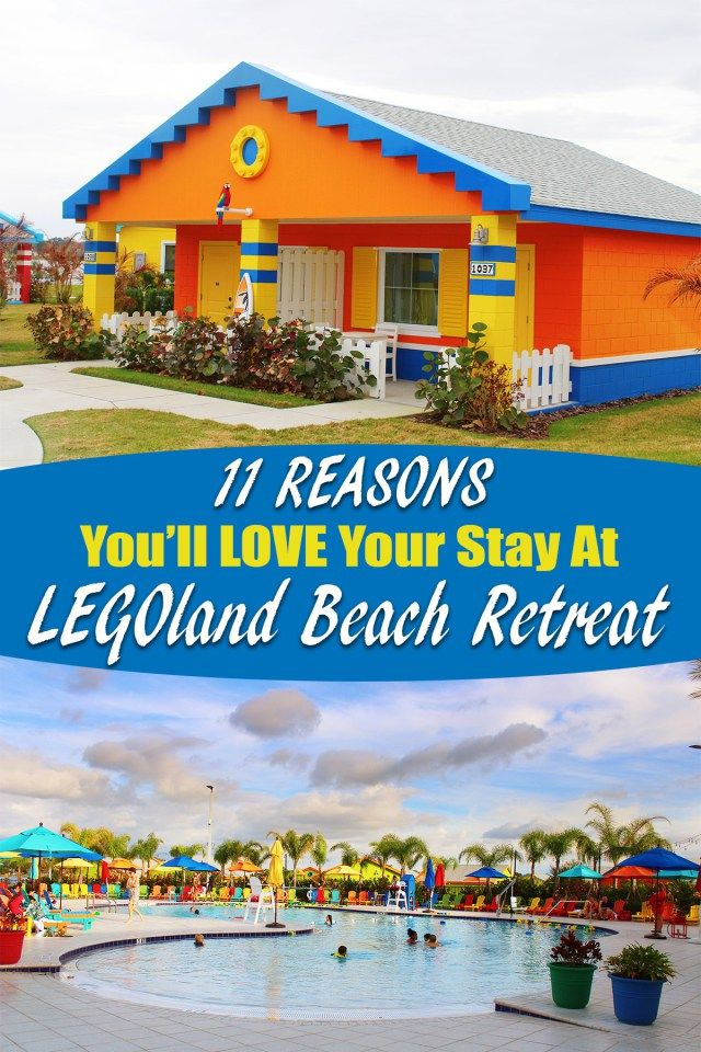 11 Reasons You'll Love Your Stay At The LEGOLAND Beach Retreat Winter Haven, Florida -USA
